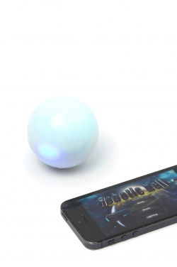 Logotrade promotional item picture of: Robotic magic ball, white