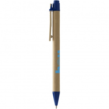 Logo trade promotional items picture of: Salvador ballpoint pen, light green