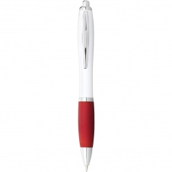 Logotrade promotional giveaways photo of: Nash Ballpoint pen, red