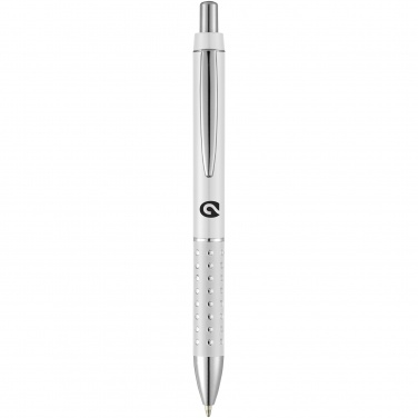Logo trade corporate gifts image of: Bling ballpoint pen, silver