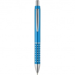 Logotrade promotional products photo of: Ballpoint pen Bling, light blue