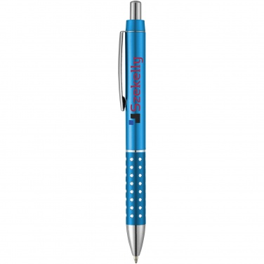 Logotrade promotional giveaway image of: Bling ballpoint pen, light blue