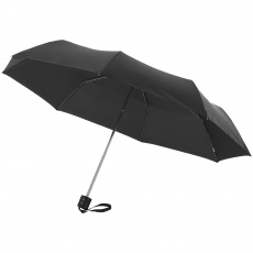 21,5'' 3-Section Ida Umbrella, black