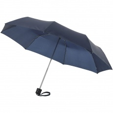 21,5'' 3-section Ida Umbrella, navy blue