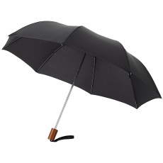 "20"" 2-Section Oho umbrella, black"