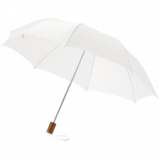 "20"" 2-Section umbrella, white"