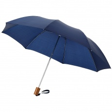 "20"" 2-Section umbrella Oho, navy blue"