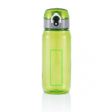 Logo trade promotional giveaways picture of: Tritan bottle, green/grey