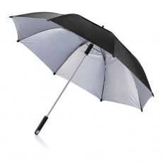 "1. 27"" or 120 cm Hurricane storm umbrella, black"