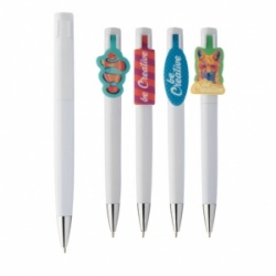Logo trade promotional products picture of: Creaclip ballpoint pen custom made
