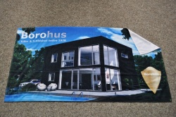 Logo trade corporate gifts picture of: Sauna towel, digitally printed 70 x 140 cm