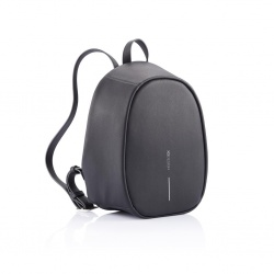 Logo trade corporate gifts image of: Special offer: Bobby Elle anti-theft backpack, black