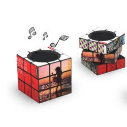 Logo trade corporate gifts picture of: Rubik´s Bluetooth Speaker