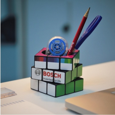 Logotrade advertising products photo of: 3D Rubik's Pen Pot