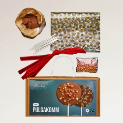 Logotrade promotional giveaway picture of: Gift set MAKE YOUR OWN LOLLIPOP