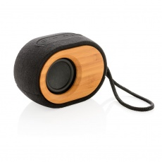 Cool Bamboo X  speaker, black, personalized name, sleeve, gift wrap