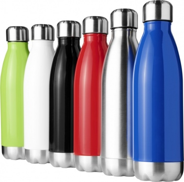 Logotrade advertising products photo of: #5 Arsenal 510 ml vacuum insulated sport bottle, black