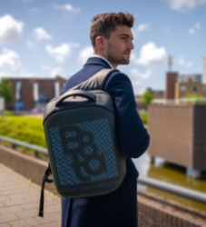 Logo trade corporate gifts picture of: Smart LED backpack