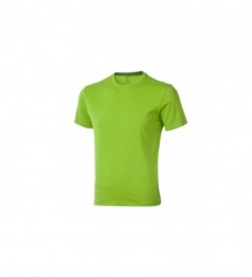 Logo trade promotional items image of: Nanaimo short sleeve T-Shirt, light green