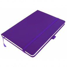 A5 note book 'Kiel'  color purple