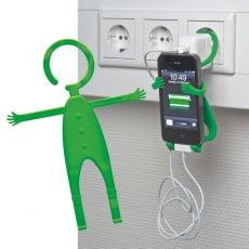 Mobile phone holder 'Lodsch'  color green